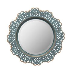 Best farmhouse wall decorations and rustic wall decor you will love. We absolutely love country themed wall decorations including farmhouse wall art, canvas art, mirrors, and more. Metal Mirror, Wall Mounted Mirror, Mirror Set, Wall Mirrors, Mirror Ideas, Buy Metal, Elegant Home Decor, Farmhouse Wall Decor, Farmhouse Mirrors