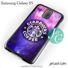Starbucks Galaxy Phone case for samsung galaxy S3/S4/S5
