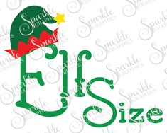 Elf Size Cut File Christmas SVG Elf Elves Kids Baby  Christmas Xmas Clipart Svg Dxf Eps Png Silhouette Cricut Cut File Commercial Use SVG by SparkleGraphics16 on Etsy https://www.etsy.com/listing/495792233/elf-size-cut-file-christmas-svg-elf