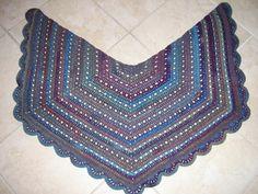 Eva's shawl Alternate Border