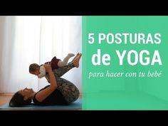 5 Posturas de Yoga para Madres con Bebés