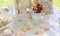 Mesa de bodas y volados