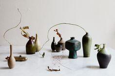 Golden winter home - via cocolapinedesign.com