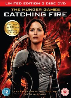 DVD: The Hunger Games: Catching Fire (2-disc)