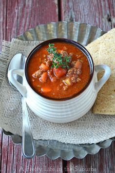 Hamburger Soup // Easy Weeknight Dinners