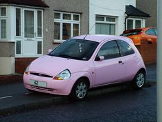 Ford Ka Collection..always wanted this car! not in pink surprisingly!