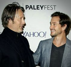 Mads Mikkelsen & Hugh Dancy