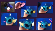 Needle Felted Eyes: A basic picture tutorial by aphid777.deviantart.com on @deviantART