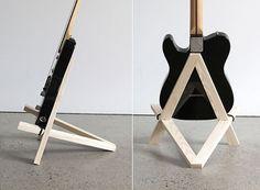 Stol Guitar Stand — ACCESSORIES -- Better Living Through Design