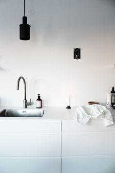 Minimalistic white #kitchen