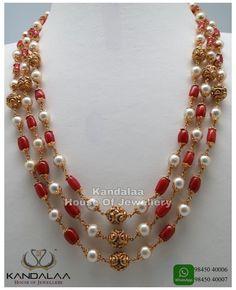 #pearl #jewelry #with #saree
