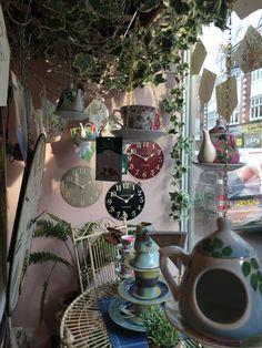My Alice in Wonderland shop window
