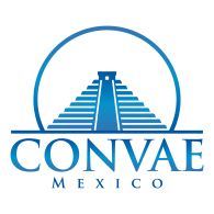 Mexico-Logo of Convae. This company designs and manufactures hotel furniture.  The pyramid in the logo relates to the Mayan pyramids in Mexico.  I like the contrast in text and the use of a circle. http://www.convae.com.mx