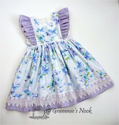 Best 12 Share this – – SkillOfKing. Little Girl Dresses, Little Girls, Girls Dresses, Summer Dresses, Baby Dresses, Sailor Dress, Doll Clothes, Baby Kids, Kids Outfits