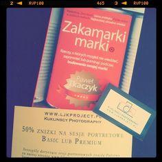 """książka od LJK Project już przyszła :-) To """"Zakamarki marki"""" (http://bit.ly/I1UFN3), które napisał Paweł #Tkaczyk. Jako, że Paweł #Krolak zna go chyba osobiście, na pewno może zarekomendować lekturę, czyż nie?"""