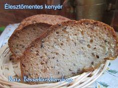 Élesztőmentes kenyér (Gluténmentes) Paleo, Food, Essen, Beach Wrap, Meals, Yemek, Eten, Paleo Food