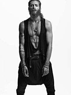 Rugged Bearded Editorials : Danny Cardozo