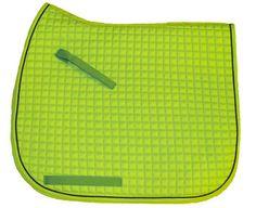 Lime Green Dressage Saddle Pad  Bon-Vivant Equestrian