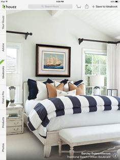 Bord de mer  Beach house style Coastal Furniture in Bedrooms 14 Rooms We Love furniture