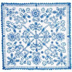 Bordado de Guimarães - lenço dos namorados Guimarães traditional embroidery - valentines tissue