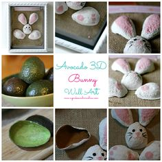 3D Bunny Wall Art ma