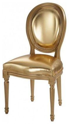 Gold Chair Louis