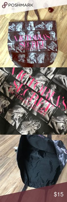 Huge Vs tote I have used this like twice but I have way too many. Victoria's Secret Bags Travel Bags