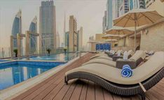 Gevora Hotel is one of the best hotels to stay in Dubai. It is a hotel with 356 meters feet) in tall that makes it the tallest hotel. Dubai Hotel, 4 Star Hotels, Best Hotels, Two Bedroom Suites, Pool Lounge, Modern Restaurant, Rooftop Pool, Beautiful Pools, Pool Days