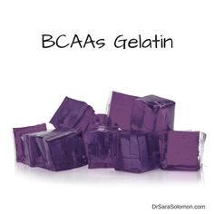 If you love grape Jello, then you will love my recipe for BCAAs Gelatin! Oh, and it has negligible calories! —> http://www.drsarasolomon.com/bcaas-gelatin/