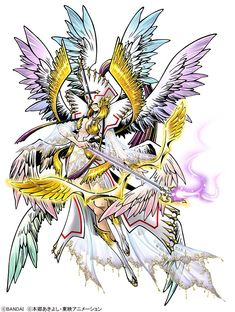 Angewomon X Profile, Large art for her & Tailmon, Plus ReArise at 1 Million