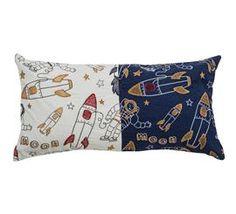 Astronaut Pillow For A Baby Boy's Nursery - DEQOR.com