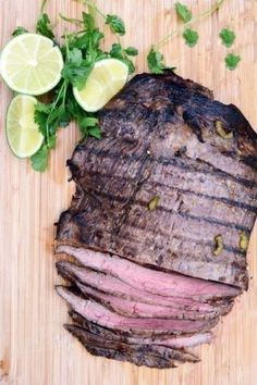 Jalapeño-Lime Flank Steak