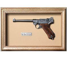 Quadro Réplica de Arma Luger N 1914