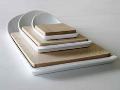 Cutting boards designed by Klaus Hackl for Eno
