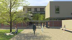 James Page Cape Town Architect - Randburg College Cape Town, College, Patio, Architecture, Outdoor Decor, Home, Design, Arquitetura, University