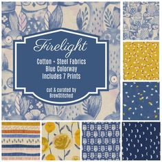 Still time to preorder this amazing new bundle from #cottonandsteel #newfabric #fireflight https://www.etsy.com/listing/601124085/preorder-fat-quarter-bundle-fabric