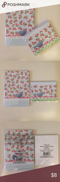 Journal, Notecard, Bubble Pen Set Description: Great stationary set! Condition: New! In factory packaging! Smoke free home! Ask questions before you purchase! Michaels Accessories