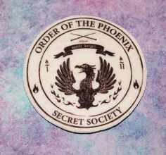 Order of the Phoenix  Secret Society Logo Iron On by MTthreadz