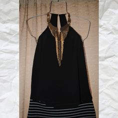 H&M black top Beautiful H&M top new with tags H&M Tops Blouses
