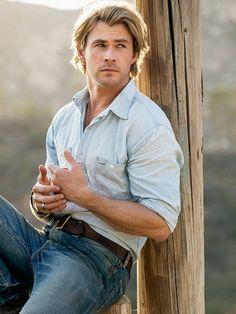Hot! Chris Hemsworth. One of the most gorgeous men, ever! #Australian hot!