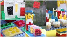 Fraldas & Rabiscos: Festa de aniversário: Legos!!!