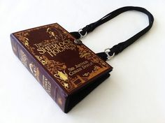Sold at Etsy, these Novel Creations purses are recycled from gently used books like Sherlock Holmes - love!