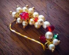 Image result for maharashtrian traditional jewellery nath