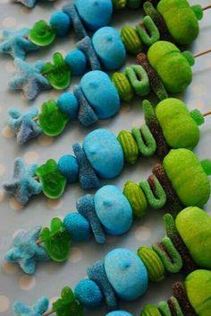 Candy ka'bobs - Under the Sea theme