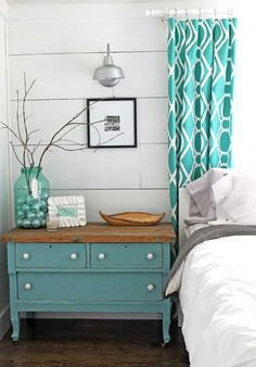 Quirky, Modern, Farmhouse Style Master Bedroom