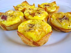 These mini quiches are on-trend with all the mini foods going around in the blogosphere.What's more, these little guys are low-carb, thanks to the wonton wrappers! How great is that?! You can basically fill them with whatever you want, just try not to overflow them. I used 1 …