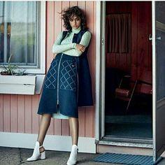 Alanna Arrington for Vogue Arabia