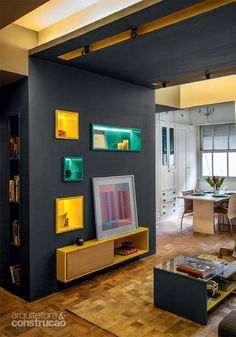 106 best a r q images on pinterest arch belt and bow black interior design yellow pops of colora fandeluxe Images