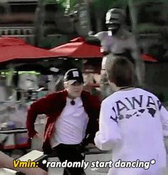 Yep That's how it goes when u have the right partner|| JUST BTS VMIN