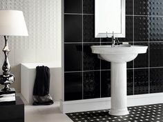 Bathroom Designs Black And White Tiles a safe bathroom floor tile ideas for safe and healthy bathroom